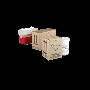 Box di trasporto monouso