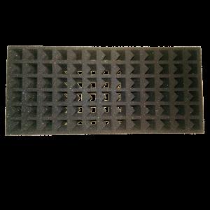 Rack in spugna assorbente per il trasporto di provette cod. 45390078