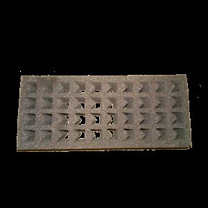 Rack in spugna assorbente per il trasporto di provette cod. 472010